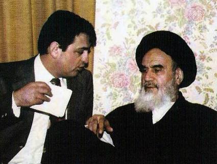 Dr sayed sadegh Tabatabaei & Emam Khomeyni