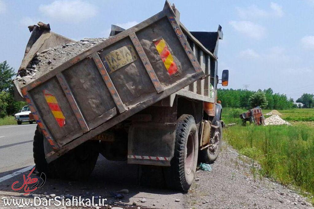تصادف کامیون (۲)