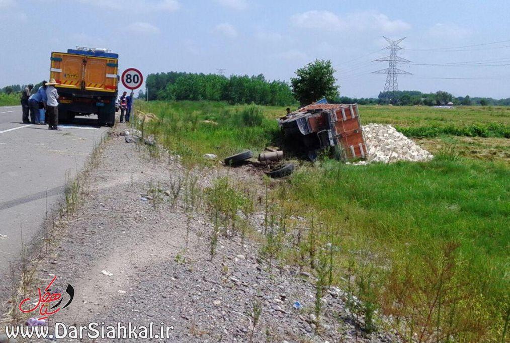 تصادف کامیون (۵)