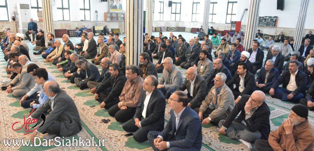 نماز جمعه سیاهکل (۱)