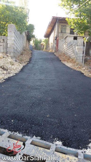 جاده آسفالت خاکی (۱)