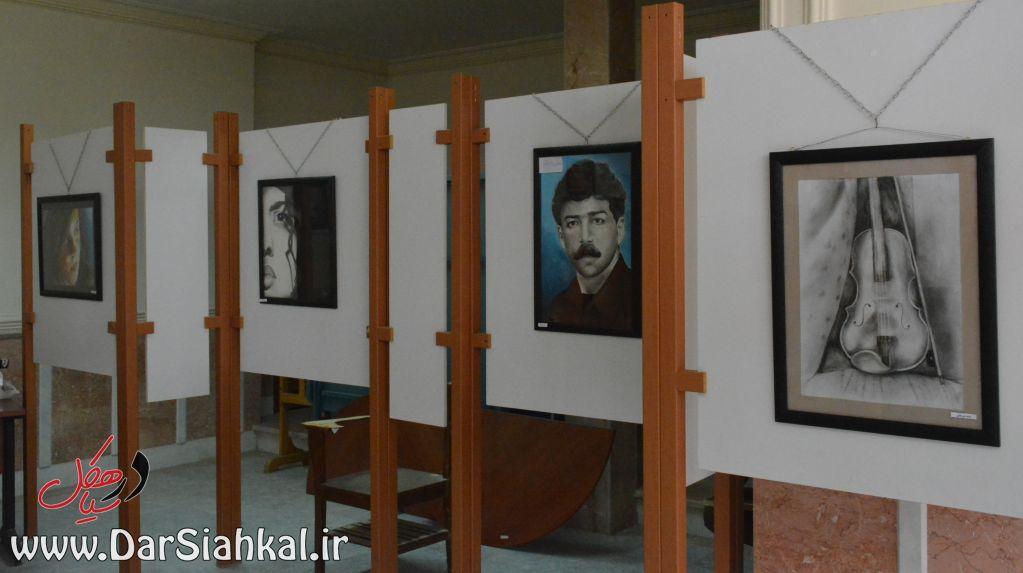 نمایشگاه نقاشی طرحی نو سیاهکل (۱۱)